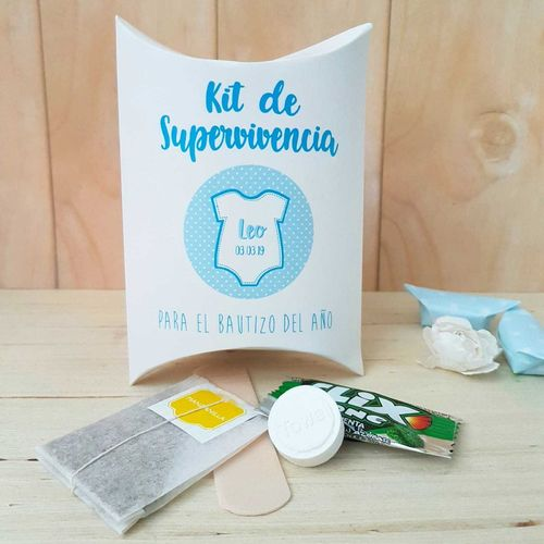 Kit de supervivencia para bautizo