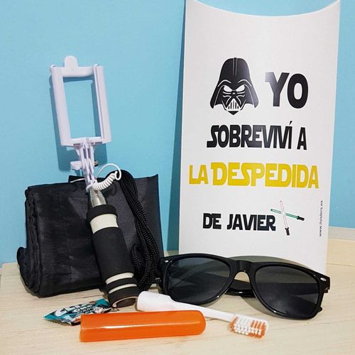 Kit despedida Star Wars