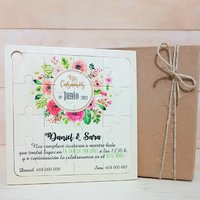 Invitaciones boda exclusivas formatos especiales